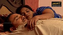 Indian House wife sharing bed with her Husband friend when his husband deeply sleeping  -indiantube.site