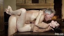 Old english teacher has sex with his sexy young... Thumbnail