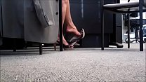 Cams4free.net - Candid Shoeplay in Slingbacks a...
