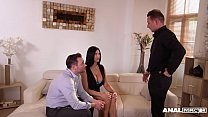 Anal inspectors in epic double penetration domination of milf Jasmine Jae