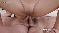 May Thai is Back #2 8on2 with Balls Deep Anal, DAP, Gapes, Cumswapping with swallow GIO1123