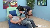 Busty Cop Lacey Cruz Wraps Her Big Clit Around ... thumb