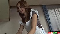 Shiori Ayase moans when the dick hits her hard - More at Japanesemamas com