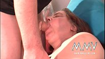 MMV Films German slut helping out a fat mature wife to orgasm Vorschaubild