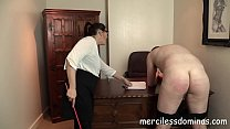 French Lesson - Strict Teacher with Cane video