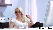 Hard Style Sex In Office With Big Round Tits Gi...