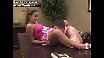 Pretty 18 Teen Student Fucks The Principal - ww...
