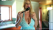 Big Tit Queen Kelly Madison Gets Hot In The Kit...