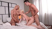 Busty Bombshells Chessie Kay & Kyra Hot nail a Threesome