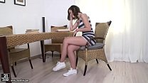 Wild deepthro and anal sex with a teen - Grace Jules and Vincent Vega - 9Club.Top