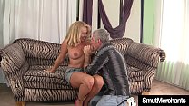 Sexy Blond Granny fucked good Preview