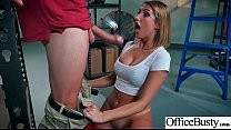 Office Horny Girl (August Ames) With Big Melon ...