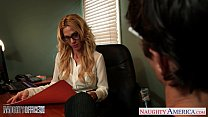 Tattooed Blondie Sarah Jessie Fuck In The Office