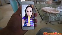 Sister Ashley Adams sneaky stepbro stole the batteries from her vibrator video