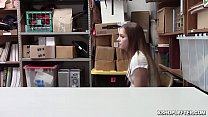 Sexy Soft Voiced Shoplyfter Fucked
