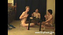 Amazing twinks Trace and William get together with their new