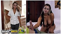 BANGBROS - Hot Colombian Maid With Big Tits Giv... Thumbnail