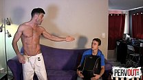 Karate Wedgies With Tristan Sweet And Lance Hart GAY WEDGIES