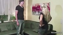 German Mother In Lingerie Show Young Step-Son How Fuck
