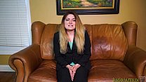 Casting Couch Interview Turns Suck And Fuck Session