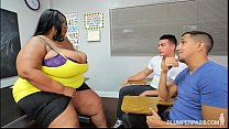 black teacher boobs