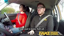 Fake Driving School Jealous learner with great tits wants hard fucking Preview
