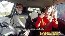 Fake Driving School Jealous learner with great tits wants hard fucking - 9Club.Top
