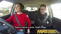 Fake Driving School Jealous learner with great tits wants hard fucking Image