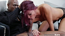 PrivateBlack - Lustful Lyen Parker Gags On BBC Before Butt Fucking Fun