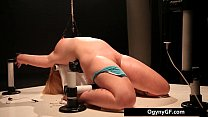 Exciting Blond Chick Adicted To Fetish