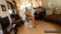 Big Boobed french blonde Stella Delcroix visits private's casting couch thumbnail