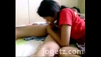 Cum on the Bed . Very Horny Couple at jogetz pahubad scandal Preview