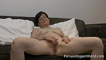 Horny MILF Masturbating Fleshy Pussy to Multiple Orgasms preview image