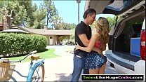 Kimmy Granger butt plug and fucked hard
