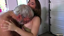 19616 Such an innocent petite young pussy for an old horny hairy grandpa preview