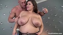 Bubbly BBW Gigantic Boobs Ass Gets Fucked - 9Club.Top