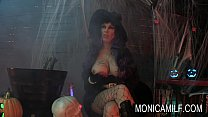 Halloween in Norway with monicamilf and the beast pornhub video