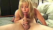 Mature Petite Blond Sucks & Fucks Her Young BoyToy's Thumb