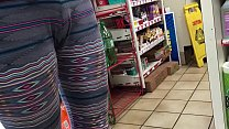 Teen waiting in store