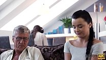 Daddy4K. Smart Teen Revenges On Busy Bf By Seducing His Handsome Dad