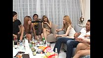 Asian only best bigroup party fucking sex sex preview image