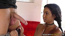 Screenshot Busty Ebony  Jenna Foxx gets fucked on casting