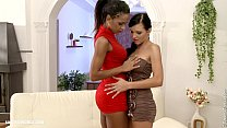 Backdoor Bliss - by Sapphic Erotica lesbian sex with Izabella Ema video