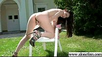 Amateur Teen Girl Love To Play With Vibrator movie-31