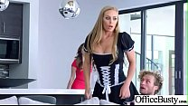 Office Sex With Sluty Big Juggs Teen Girl (Nicole Aniston) vid-21