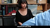 Shoplyfter - Corrupt Teen Blackmailed & Fucked