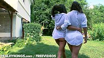 Screenshot Reality Kings Two Hot Euro Teens In Outdoor F