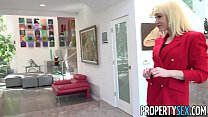 PropertySex - Red blazer agent Lily Labeau fornices in mansi - 9Club.Top