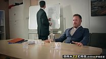 Brazzers - Big Tits at Work - Under The Table Deal scene starring Mea Melone and Freddy Flavas Image