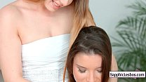 Sapphic Erotica Lesbos Free xxx video from www.SapphicLesbos.com 15